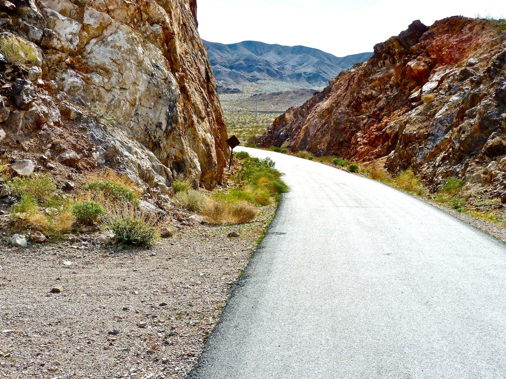 River Mountains Loop Trail in Nevada