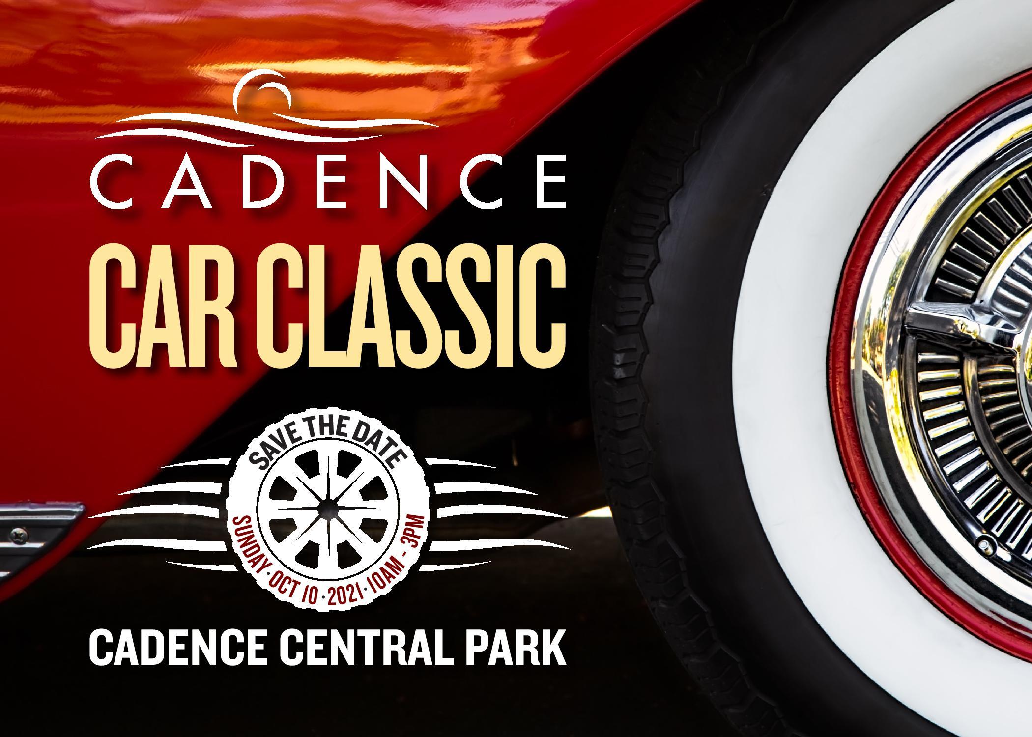 Cadence Car Show Banner